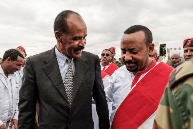 Le 9 novembre, le président érythréen, Isaias Afwerki, accueilli à l'aéroport de Gondar parle premier ministre éthiopien Abiy Ahmed qui est parvenu à réconcilier les deux pays, frères ennemis depuis plusieurs décennies.