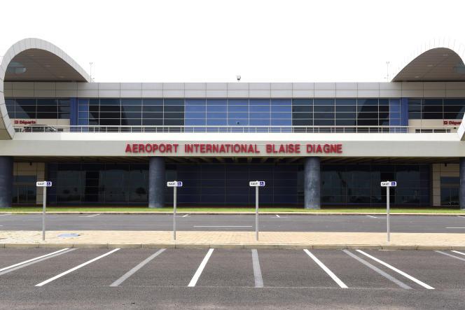 L'aéroport international Blaise-Diagne , à 50 km de Dakar, au Sénégal.