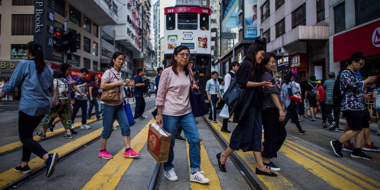 L'économie de Hongkong pénalisée par la crise politique - Le Monde