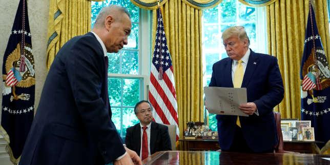 Guerre commerciale: le mini-accord avec la Chine annoncé par Donald Trump ne règle pas les points de discorde