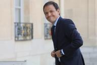 Cedric O, le secrétaire d'Etat au numérique, à l'Elysée, le 17 septembre.