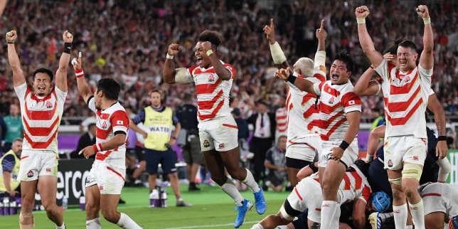 Coupe du monde de rugby 2019: le Japon file en quarts, tout un pays vit un exploit «historique»