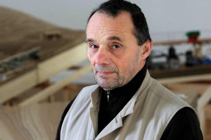 L'architecte François Seigneur, en 2009.