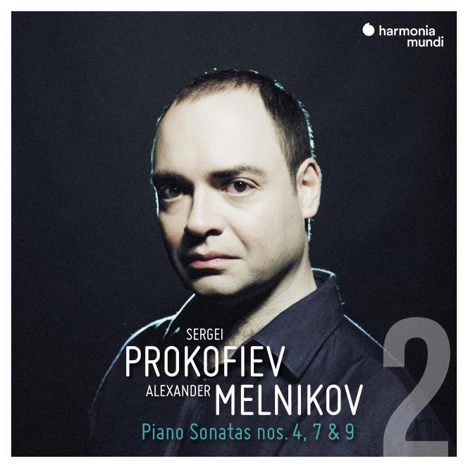 Pochette de l'album«Piano Sonatas 4, 7 et 9», de Seirgei Prokofiev, par Alexander Melnikov.