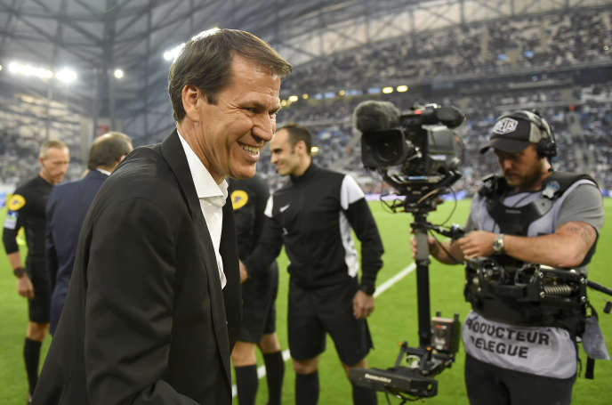 Rudi Garcia est le nouvel entraîneur de l'Olympique lyonnais.