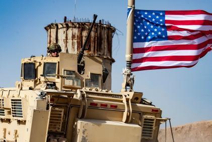 Des militaires américains dans le nord de la syrie, le 6 octobre 2019.