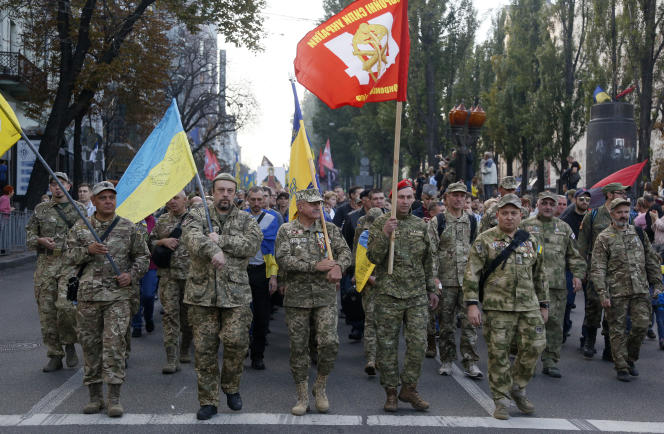 A Kiev, le 14 octobre.