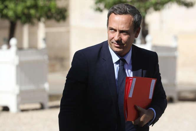 Le secrétaire d'Etat Adrien Taquet à l'Elysée, le 19 septembre, à Paris.