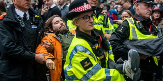 La police britannique veut interdire à Extinction Rebellion de manifester à Londres