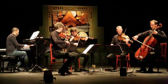 Le Quatuor Béla en concert avec «Barbarie», un face-à-face de rêve avec les machines