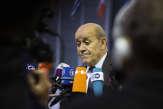 Le ministre des affaires étrangères, Jean-Yves LeDrian, annule sa présence au match France-Turquie