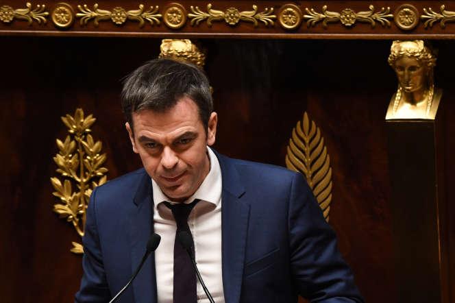 Olivier Véran,rapporteur général LRMde la commission des affaires sociales, en décembre 2018.