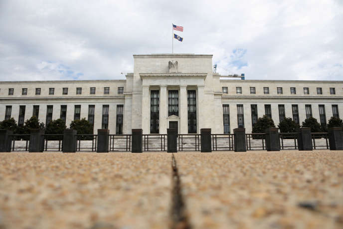 Le siège de la Fed, à Washington, le 22 août 2018.