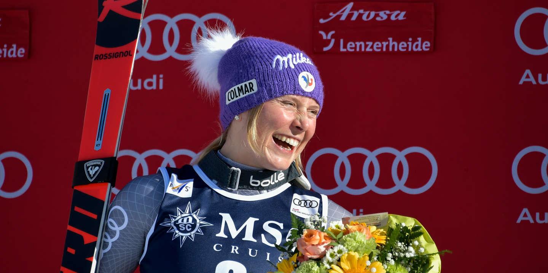 Tessa Worley : « Rechausser les skis, ça me démange »