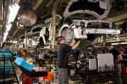 A l'usine Nissan de Sunderland, dans le nord-est de l'Angleterre, en 2014.
