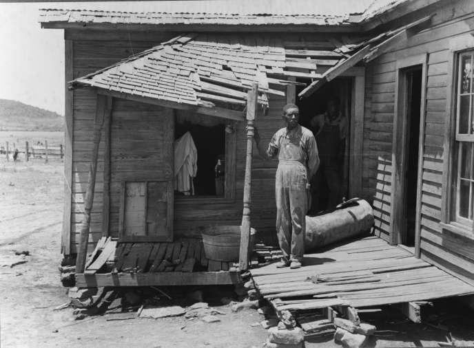 Un fermier pauvre afro-américain, en Oklahoma, 1939.