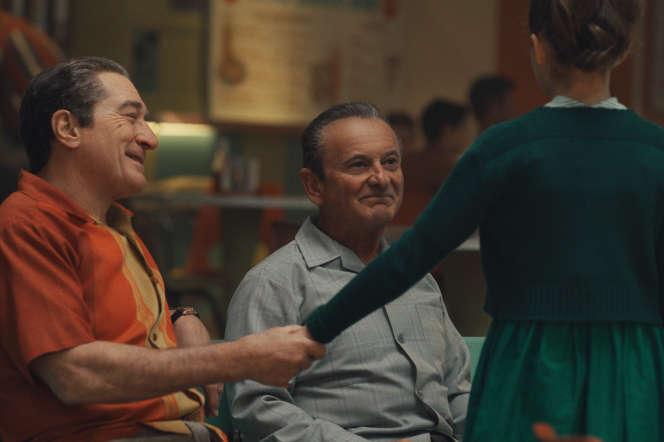 Robert De Niro et Joe Pesci dans «The Irishman», de Martin Scorsese.