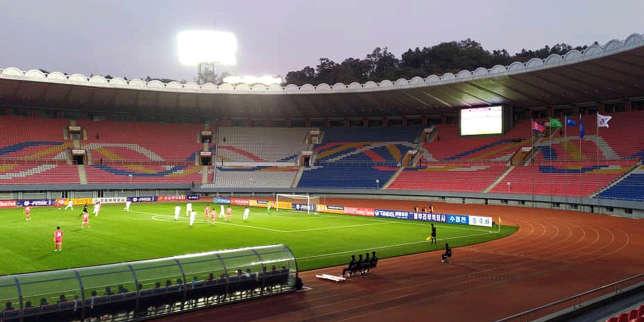 Rencontre historique entre les deux Corées à Pyongyang en vue du Mondial de foot 2022