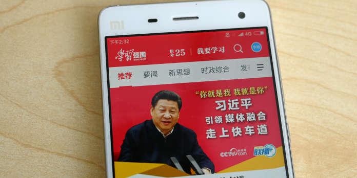En Chine, une application sur Xi Jinping aux étranges pouvoirs