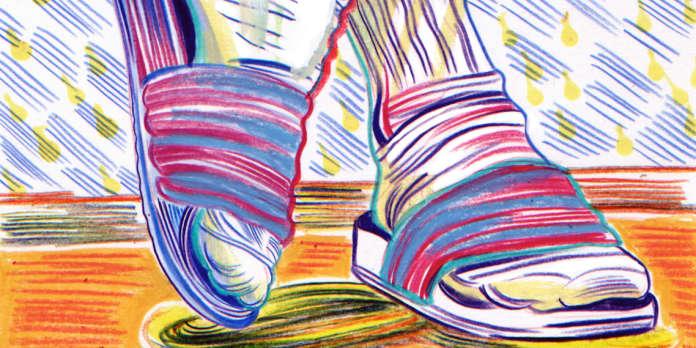 #socks ou le culte du claquettes-chaussettes