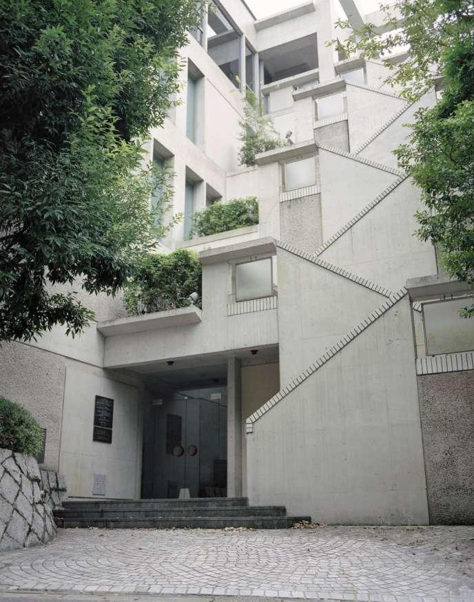La Villa Kujoyama, résidence d'artistes à Kyoto, rattachée à l'Institut français du Japon.
