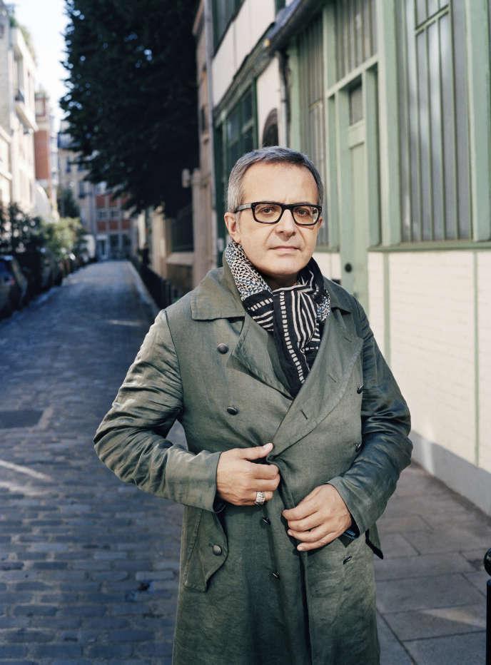 L'écrivain Charles Dantzig, à Paris, en 2018.