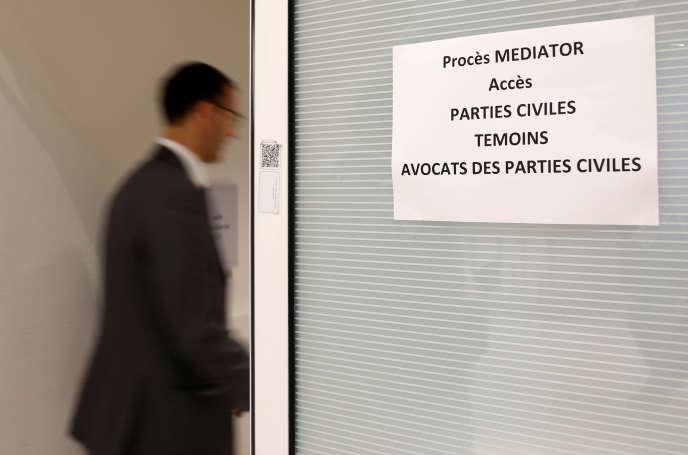 Procès Mediator en cours au tribunal correctionnel de Paris, le 23 septembre.