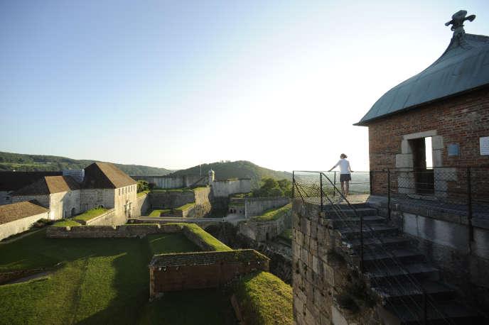 La citadelle Vauban deBesançon.