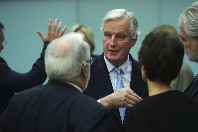 Michel Barnier, le négociateur en chef de l'Union européenne pour le Brexit, mercredi 16 octobre, à Bruxelles.