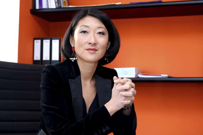 Fleur Pellerin, cựu bộ trưởng văn hóa, và người sáng lập quỹ đầu tư Korelya, Paris, ngày 17 tháng 1 năm 2017.