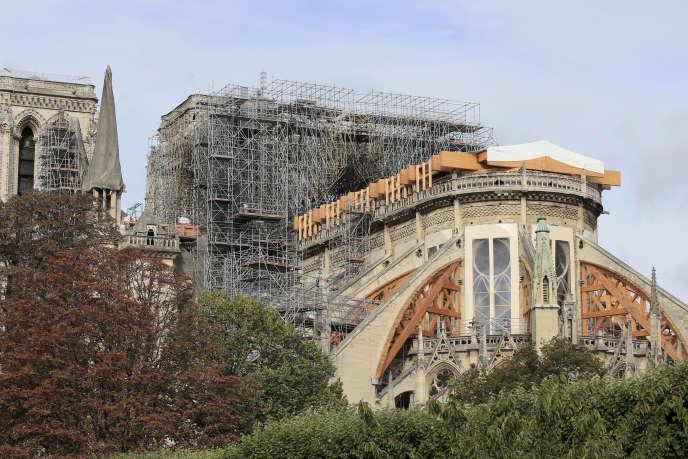 La cathédrale Notre-Dame de Paris, le 15 octobre.