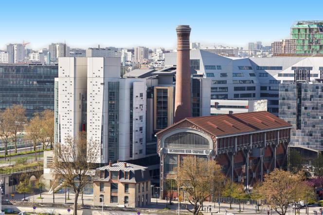L'Ecole nationale supérieure d'architecture Paris-Val de Seine (Ensapvs), dans le 13e arrondissement de Paris.