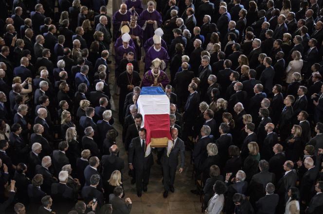 A l'église Saint-Sulpice, à Paris, le 30 septembre.