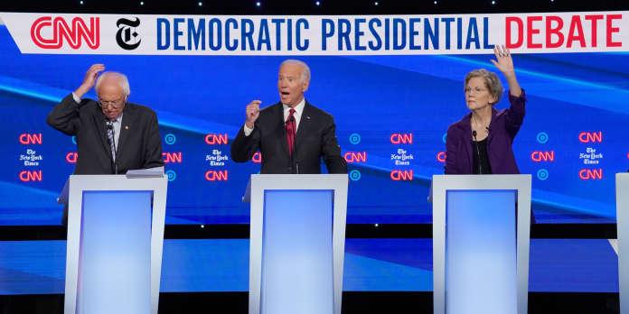 Elizabeth Warren sous le feu des critiques au débat démocrate