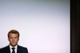 M. Macron le 16 octobre à Toulouse.