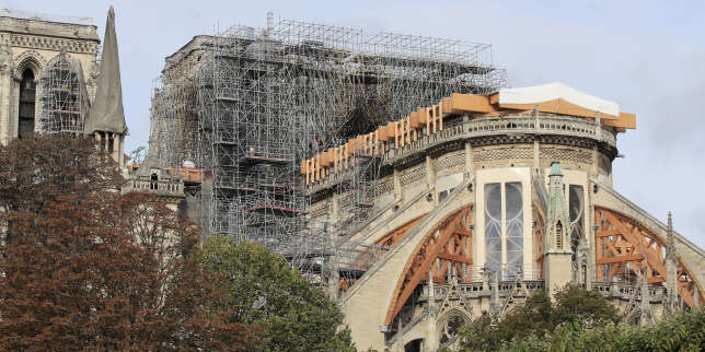 Six mois après l'incendie, le chantier colossal de Notre-Dame de Paris