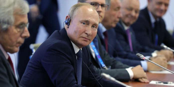 Vladimir Poutine, arbitre et grand gagnant du chaos syrien