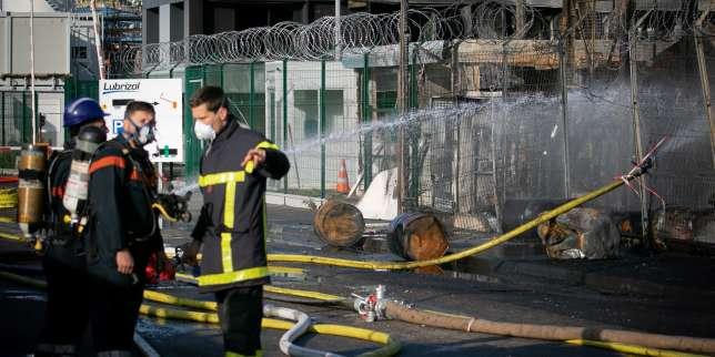 Incendie de Rouen: «L'actualité témoigne de l'élargissement de la nature et de l'ampleur des risques»
