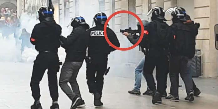 « Gilets jaunes » : comment un policier a tiré au LBD 40 dans la tête d'un manifestant