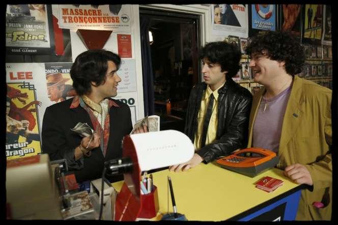 Anton Csaszar,Jeremy Lewin et Yohan Manca dans«La Vérité si je mens! Les débuts».