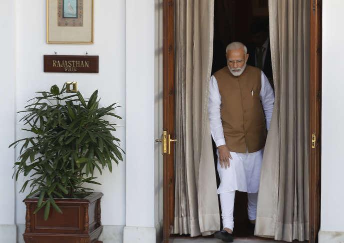 Le premier ministre indien, Narendra Modi, à New Delhi, le 5 octobre.