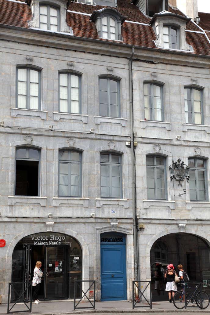 La maison natale de Victor Hugo.