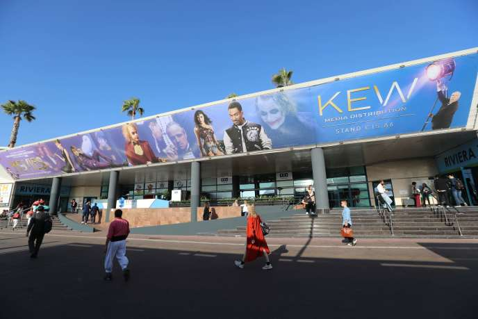 Le palais des festivals, à Cannes, où s'est tenue, du 14 au 17 octobre, la 34e édition du Mipcom, le marché international des contenus audiovisuels.