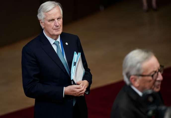 Michel Barnier, le négociateur en chef du Brexit pour l'Union européenne, à Bruxelles, le 17 octobre.
