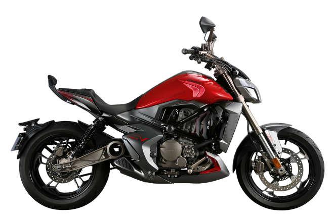 La moto V 310 de chez Zontes.