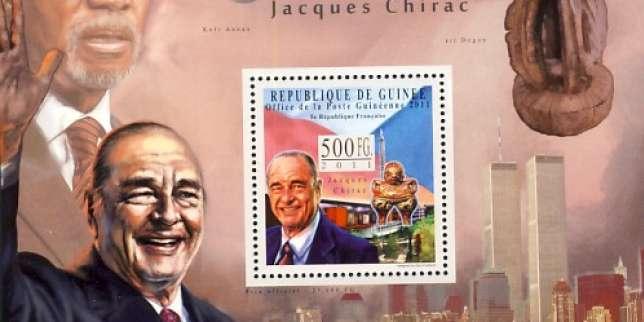 Jacques Chirac et les timbres, une vieille histoire