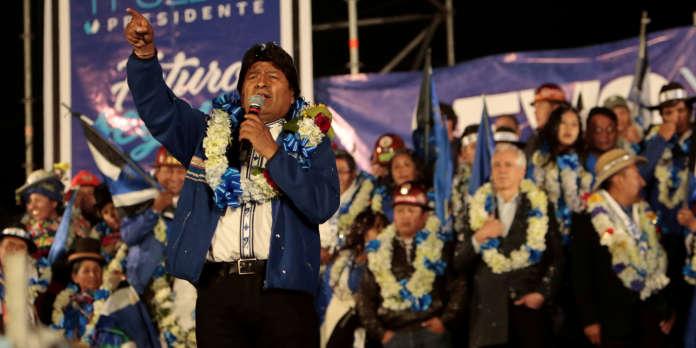 En Bolivie, la campagne électorale prend fin dans un climat d'incertitude