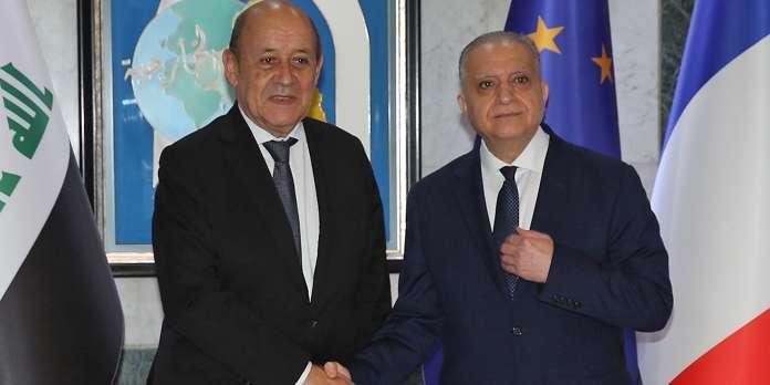 Le Drian annonce une coopération avec l'Irak sur le sort des djihadistes