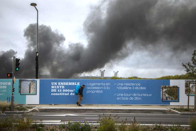 Le futur écoquartier Flaubert se trouve à moins de 500 m de sites Seveso, dont l'usine Lubrizol, qui a pris feu le 26 septembre.