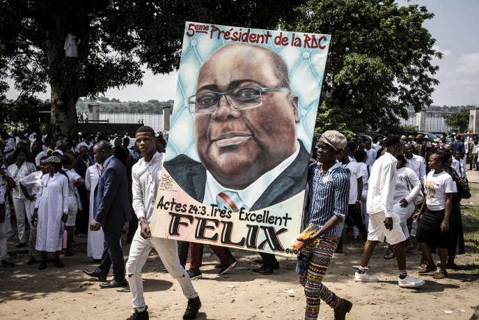 Après l'élection de Félix Tshisekedi à la tête de l'Etat congolais, le 24 janvier 2019.